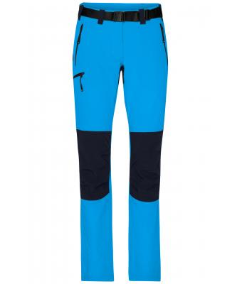 Damen Ladies' Trekking Pants Bright-blue/navy 8604
