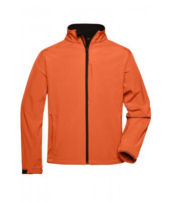 Pop Veste Homme Orange Daiber Softshell BE4w4