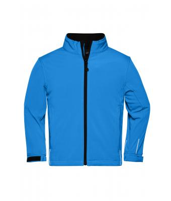 Kids Softshell Jacket Junior Aqua 7307
