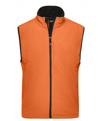 Homme Gilet softshell homme Pop-orange 7308