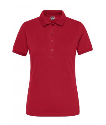 Damen Ladies' BIO Stretch-Polo Work - SOLID - Red 8704