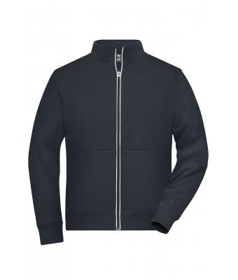 Homme Sweat shirt doublé homme - SOLID - Carbone 8730