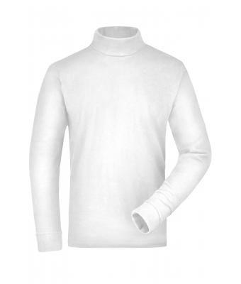 Unisex Rollneck Shirt White 7332