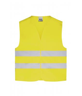 Kinder Safety Vest Junior Fluorescent-yellow 7348