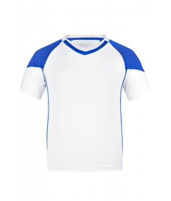 Kinder Team-T Junior White/royal 7396