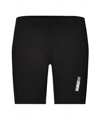 Ladies Ladies Running Short Tights Black Black Daiber
