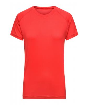 Damen Ladies' Sports-T Bright-red 10238