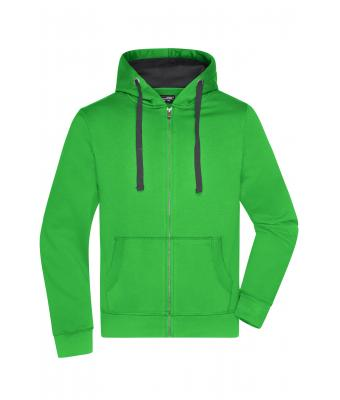 Men Men's Hooded Jacket Green/carbon 8050
