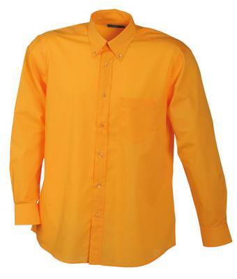 Daiber Manches Homme Orange 1wn5qg Chemise Longues Légère F45R5xqw