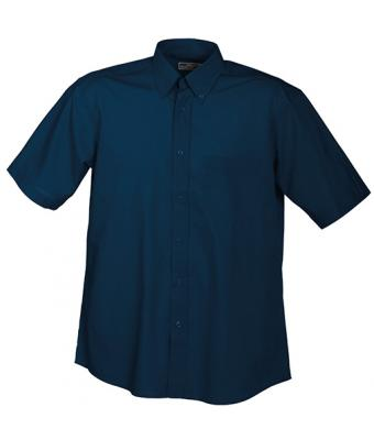Herren Men's Promotion Shirt Short-Sleeved Navy 7525