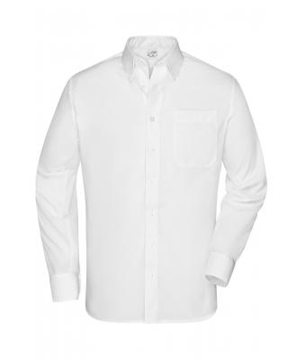 "Herren Men's Shirt ""BUTTON DOWN"" White 8149"