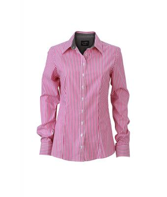 Damen Ladies' Shirt Purple-white/graphite 8252