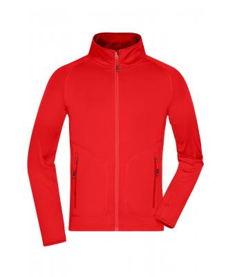 9ae4455f180a3 Homme Veste polaire stretch homme Rouge-clair chili-Daiber
