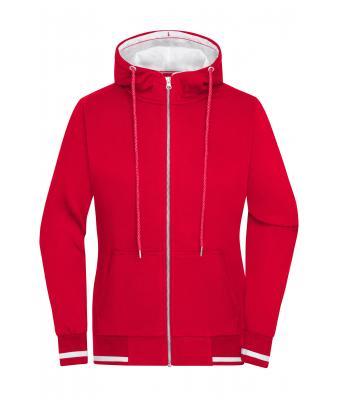 Sweat Veste Femme Rougeblanc Shirt Daiber UMSqzVp