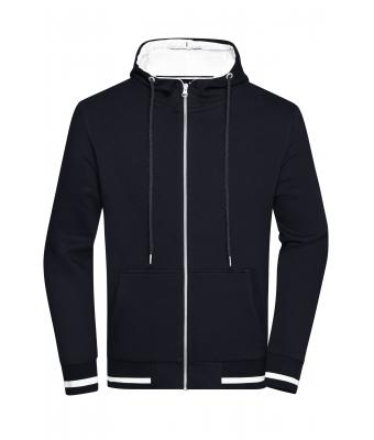 Men Men's Club Sweat Jacket Navy/white 8578
