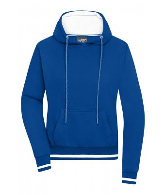 Ladies Ladies' Club Hoody Royal/white 8579