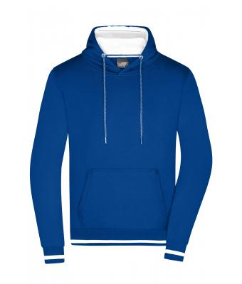Men Men's Club Hoody Royal/white 8580