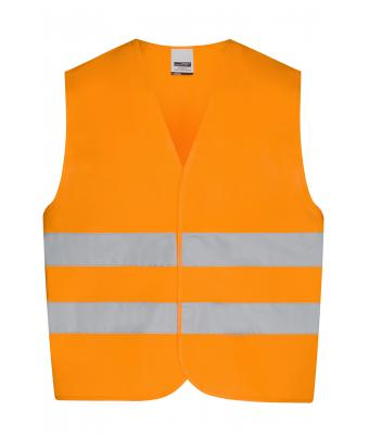 Kinder Safety Vest Kids Fluorescent-orange 7550
