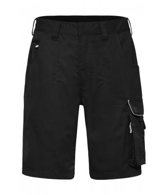 Unisex Workwear Bermudas - SOLID - Black 8720