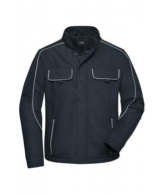 Unisex Workwear Softshell Jacket - SOLID - Carbon 8724