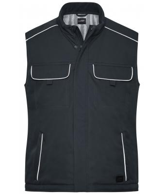 Unisex Workwear Softshell Padded Vest - SOLID - Carbon 8725