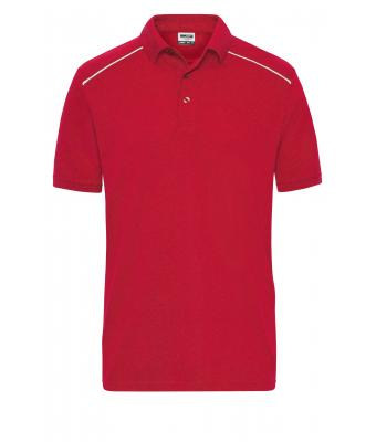 Herren Men's  Workwear Polo - SOLID - Red 8710