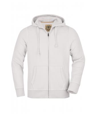 Men Men's Vintage Hoody White 8074
