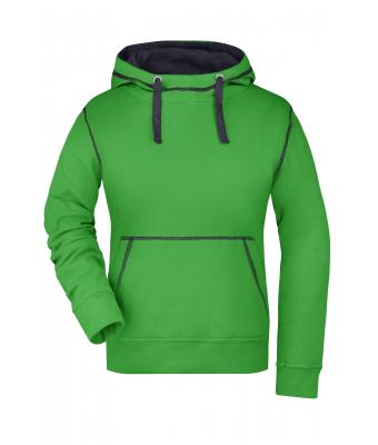 Ladies Ladies' Lifestyle Hoody Green/navy 8079