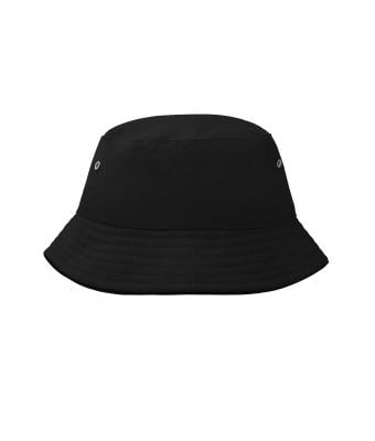 Kinder Fisherman Piping Hat for Kids Black/black 7580
