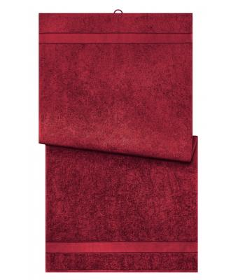 Unisex Bath Towel Orient-red 8674