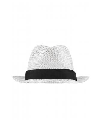 Unisex Urban Hat White/black 8294