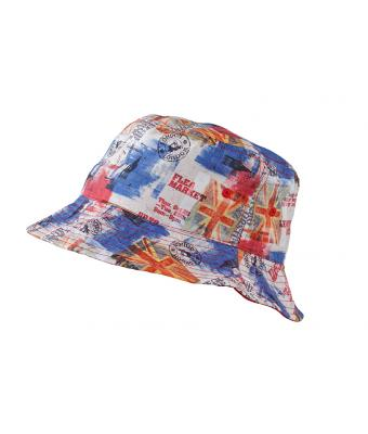 Unisex Colourful Bucket Hat City/red 8358