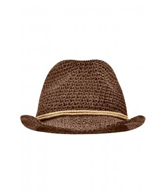 Unisex Summer Hat Brown/sand 8550