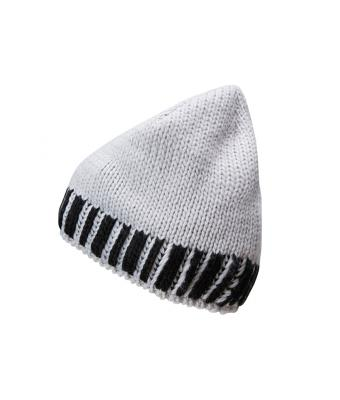 Herren Men's Winter Hat Silver/black 8436