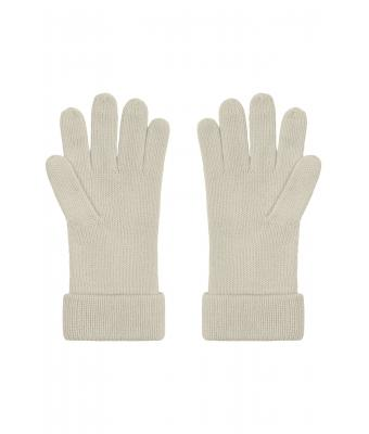 Unisex Fine Knitted Gloves Sand 8637