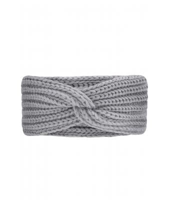 Unisex Knitted Headband Light-grey 8698