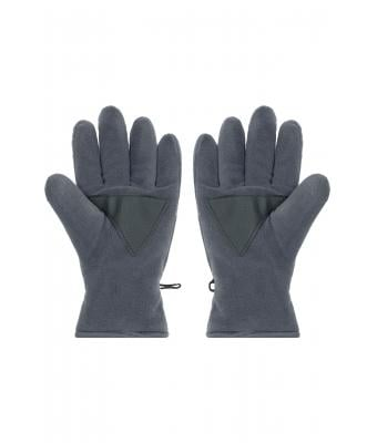 Unisex Thinsulate™ Fleece Gloves Dark-grey 7821