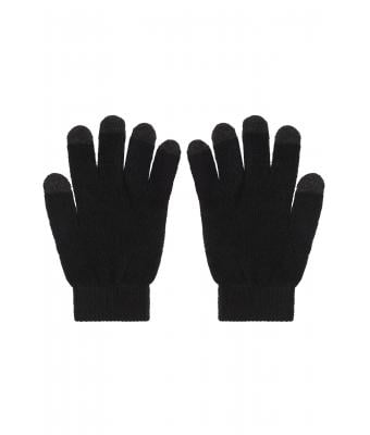 Unisex Touch-Screen Knitted Gloves Black 7998