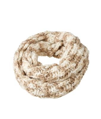 Unisex Coarse Loop Scarf Natural/off-white 8246