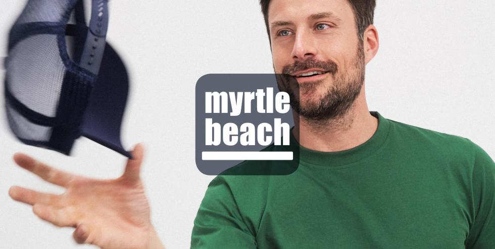 myrtle beach: trendy accessories and headgear for women, men and children